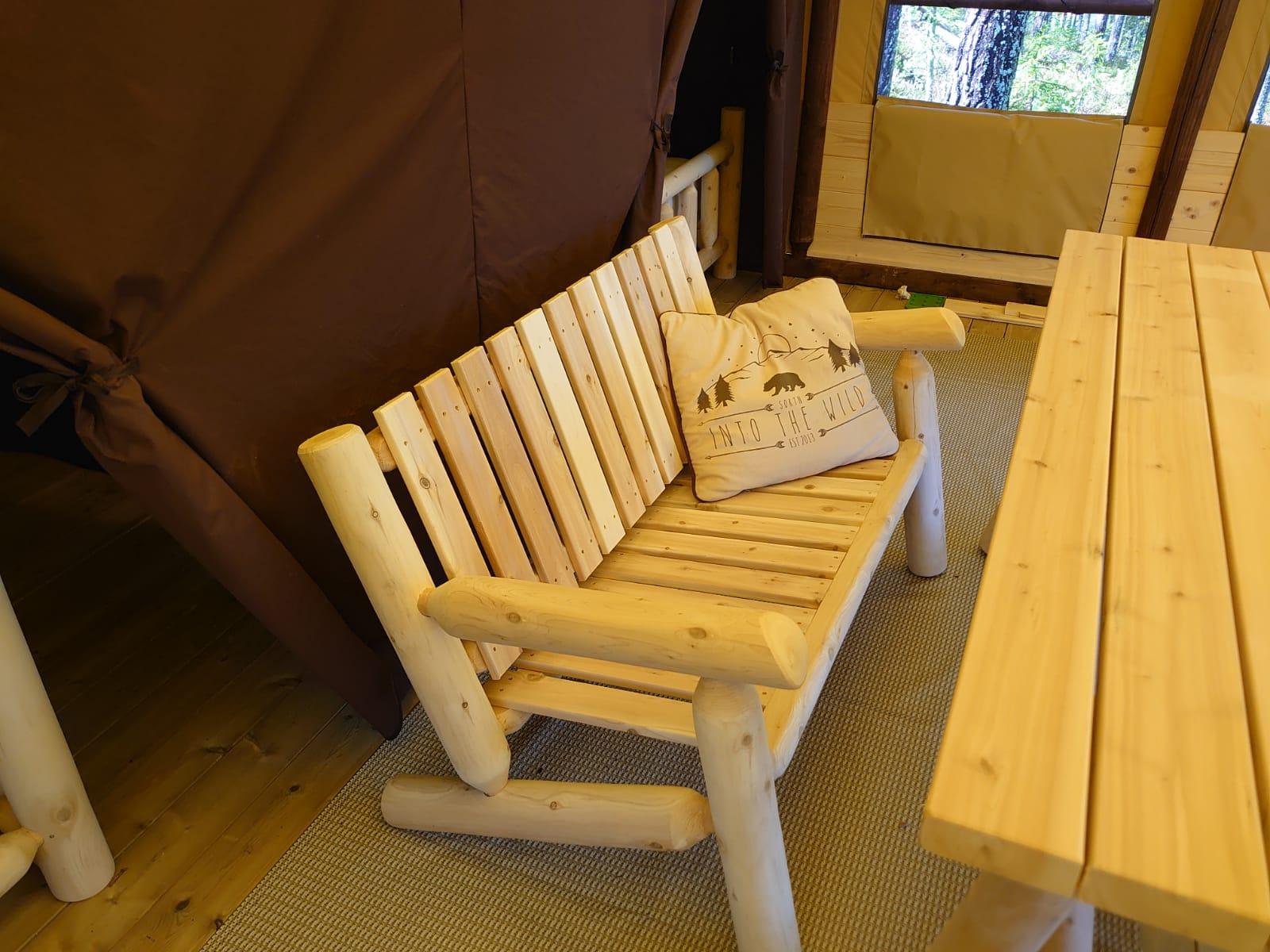 2-sit-soffa Glamping Höga Kusten