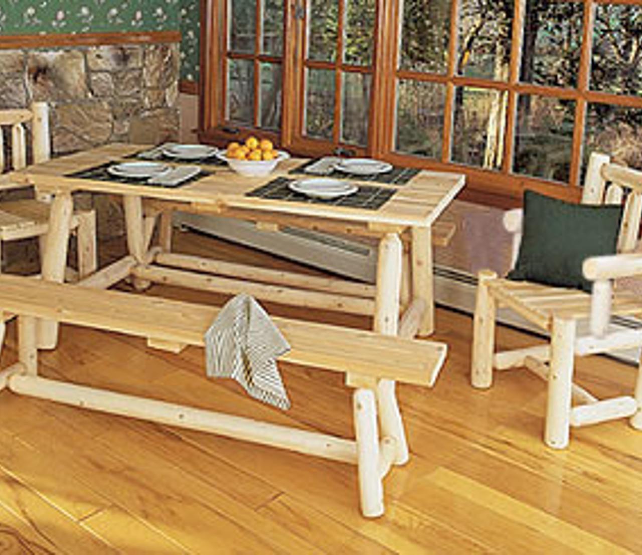rektangulärt högt bord