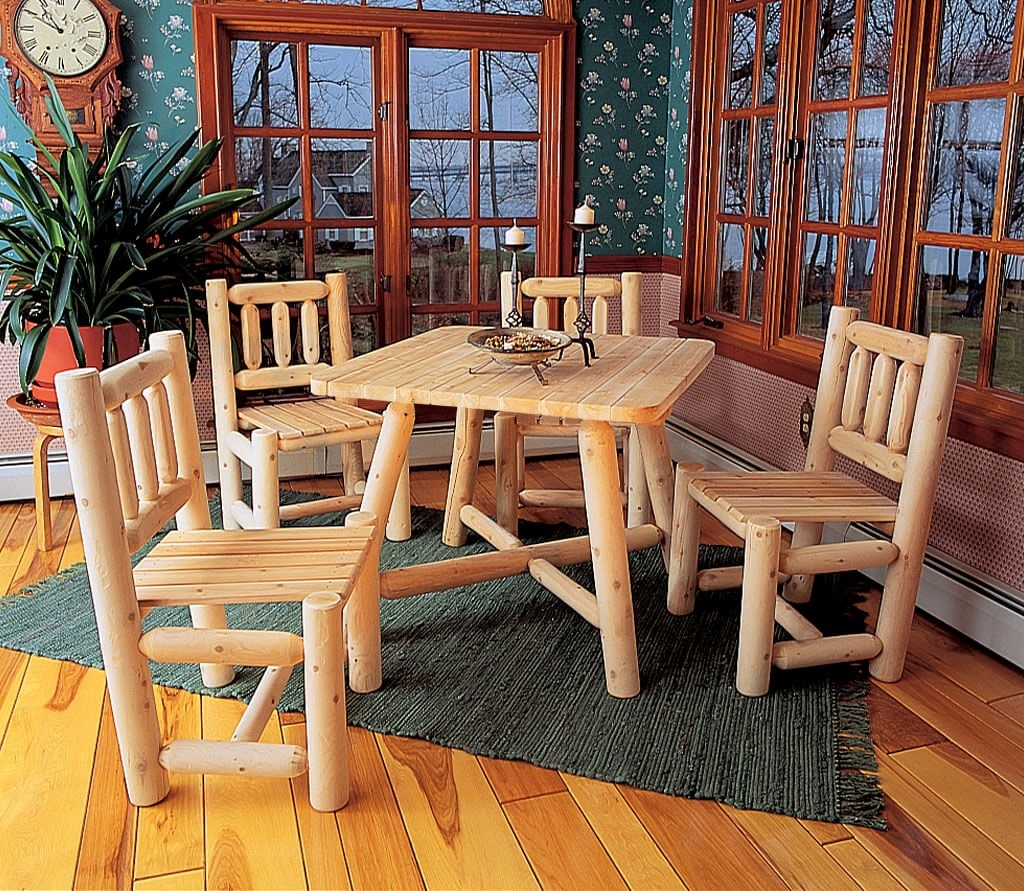 fyrkantig stol vit ceder möbler