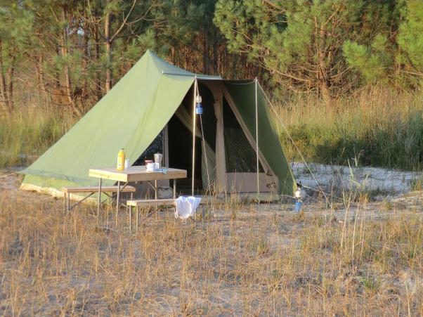 guadeloupe camping tält