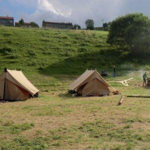 camping tält patrouille 2 scout tält