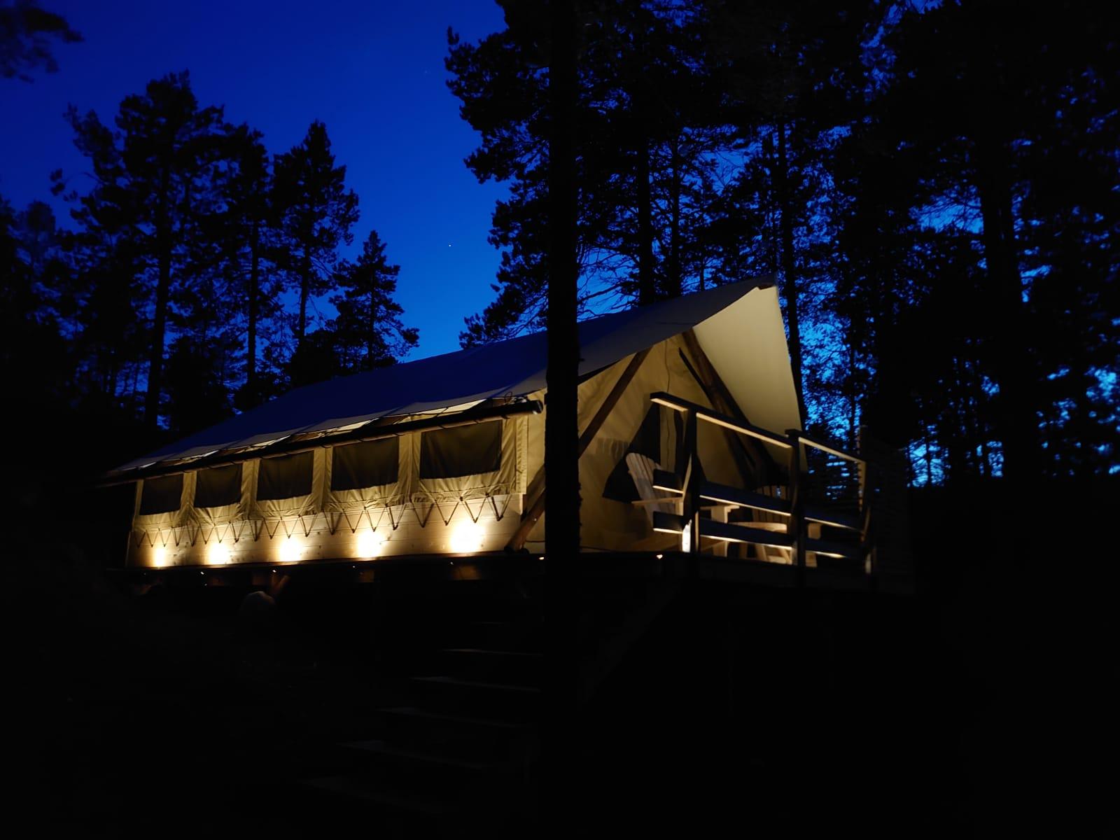 Glamping Höga Kusten Kojan.camp