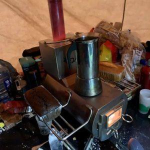 spis och rökkanaler tält Pratic Cabanon